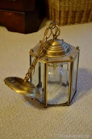 Spray Painting Brass Light Fixtures How To Spray Paint A Brass Light Fixture Or The Chandelier In