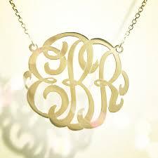 monogram initials necklace best gold monogram necklace photos 2017 blue maize