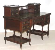 Oak Crest Manufacturing Roll Top Desk by Late Victorian Writing Desk By Maple And Co Not Really