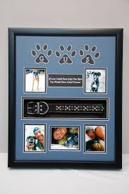 remembrance picture frame best 25 dog shadow box ideas on dog memorial pet