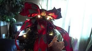 tomato cage christmas tree w dollar tree garland youtube