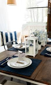 Conversing Dining Table Nautical Table Setting It All Started With Paint