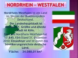 größte stadt deutschlands fläche nordrhein westfalen einwohner 18 millionen fläche km ppt