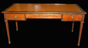 Office Desk Leather Top Antique Leather Top Desk Antique Furniture Within Leather Top Desk