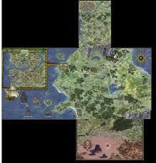 Map Of Faerun If You Are A Serious Fan Of Baldur U0027s Gate Mind Blowing Maps