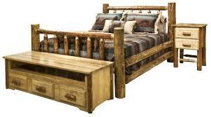 Cheap Log Bed Frames Log Bedroom Furniture Rustic Bedroom Furniture Sets Bed Frames