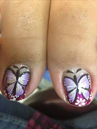 28 best butterfly nails images on pinterest butterfly nail art