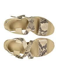 penelope chilvers women u0027s alba snakeskin sandals ivory country