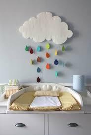 chambre bébé nuage décoration chambre bébé nuage bébé décoration