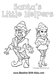 little helpers coloring pages christmas coloring pages for