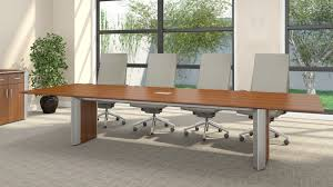 Back Painted Glass Conference Table Enwork