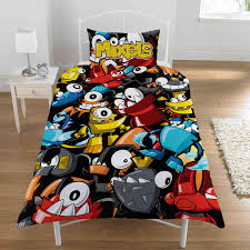 Thomas Single Duvet Cover Lego Mixels Single Duvet Cover Set Polycotton Duvet Covers