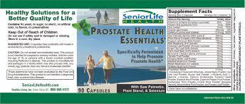 Pumpkin Seed Oil Prostate Infection by Seniorlife Health Prostate Health Essentials