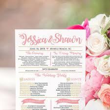 Ceremony Program Fans Kraft Wedding Program Template Download From Paintthedaydesigns