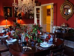 Table Settings For Dinner Extraordinary Dining Room Christmas Decorations For Your 45 Best