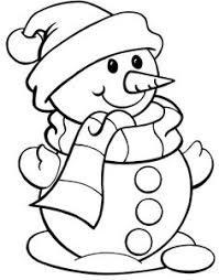 drawn snowman colored pencil color drawn snowman colored