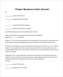 sample business letter 8 examples in pdf word