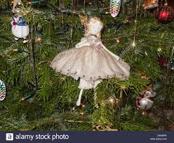 christmas tree decorations with traditional hand made fairy made