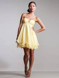 chic sleeveless sweetheart neckline short strapless empire