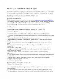 manufacturing supervisor resume product manager advice top