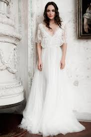 casual rustic wedding dresses casual sleeves breezy skirt just the right bridal look for