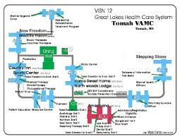 Maryland On A Map Facility Map Tomah Va Medical Center
