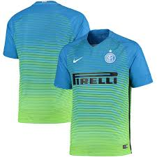 Nike Light Inter Milan Nike 2016 17 Third Stadium Jersey Light Blue Green