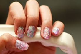 how to create fake nails out of glitter 13 steps with pictures