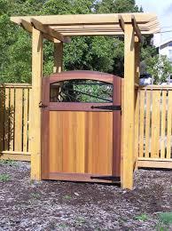 finehomebuilding cedar fence arbor and gate fine homebuilding