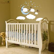 Sheep Nursery Decor Shop Counting Sheep Wall Decal Kid S Wall Sticker Baby