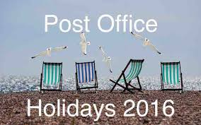 the following is the list of usps holidays for 2016 conshohocken