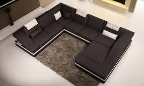 canapé panoramique en cuir divan achat banquette panoramique en cuir chest u lecoindesign