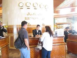 Hotel Reception Desk Front Desk Reception Desk Picture Of Le Meridien Dubai Hotel