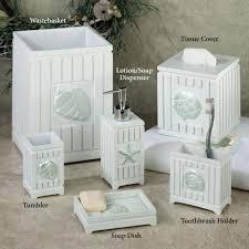 seashell bathroom ideas seashell bathroom decor part white accessories idolza