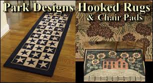 Country Hooked Rugs Hooked Rugs And Chair Pads By Park Designs Jake U0027s Country