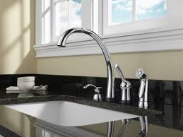 Touch Activated Kitchen Faucets Faucet Com 4380t Ar Dst In Arctic Stainless By Delta