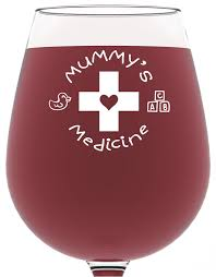 mummy u0027s medicine funny wine glass 390 ml best birthday gifts for