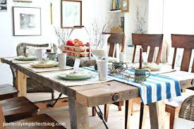 Dining Room Table Plans With Leaves Diy Rustic Dining Table U2013 Thelt Co