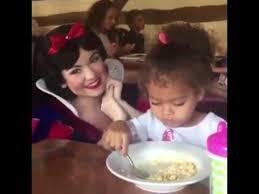 Annoyed Girl Meme - little girl is annoyed by snow white s presence youtube