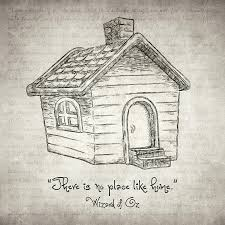 there u0027s no place like home drawing by taylan apukovska