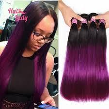 top selling hair dye 7a grade brazilian virgin hair straight ombre hair extensions top