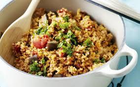 cuisiner le boulgour boulgour à la ratatouille cuisine et recettes recette femmes