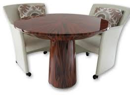 small round game table game dining table combination dining table design ideas
