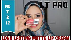 Lipstik Lt Pro Lip lip lt pro no 11 dan 12 sawitri murwani