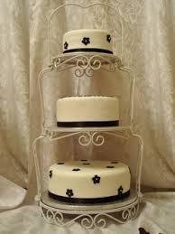 three tiered wedding cake stand round wedding ideas pinterest