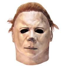 halloween michael myers in background halloween ii deluxe coverall buycostumes com