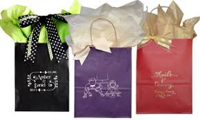 wedding gift bags for guests customized wedding welcome bags