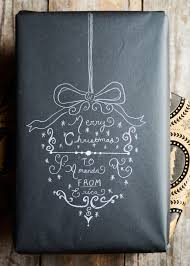 chalkboard wrapping paper diy chalkboard wrapping paper c h r i s t m a s