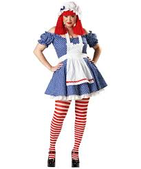 Raggedy Ann Andy Halloween Costumes Adults Racy Rag Doll Costume Rag Doll Halloween Costumes