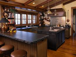 Kitchens By Design Boise Mountain Valley Residence Rustic Kitchen Boise By Damian